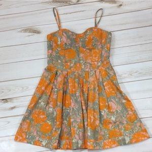 Jessica Simpson Camarillo floral cotton dress